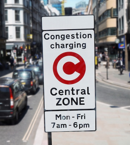 Congestion Charging in London and regulation of electric vehicles