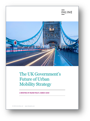 Inline Policy Briefing on UK Government Urban Mobility Strategy