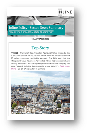 Sharing and On-Demand Transport Sector News Summary