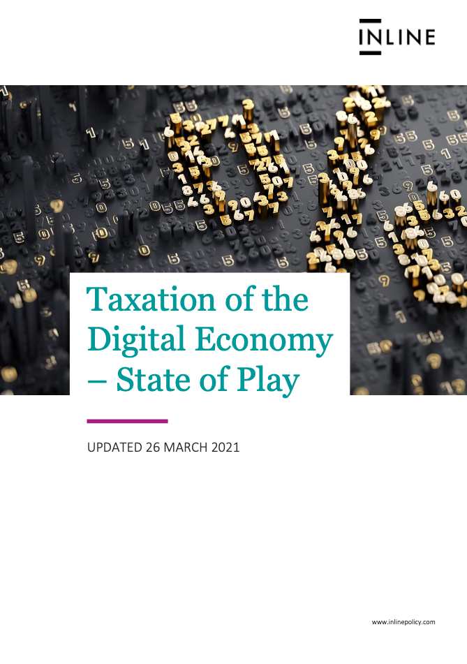 Taxation of the Digital Economy - State of Play