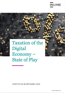 Taxation of the Digital Economy – State of Play
