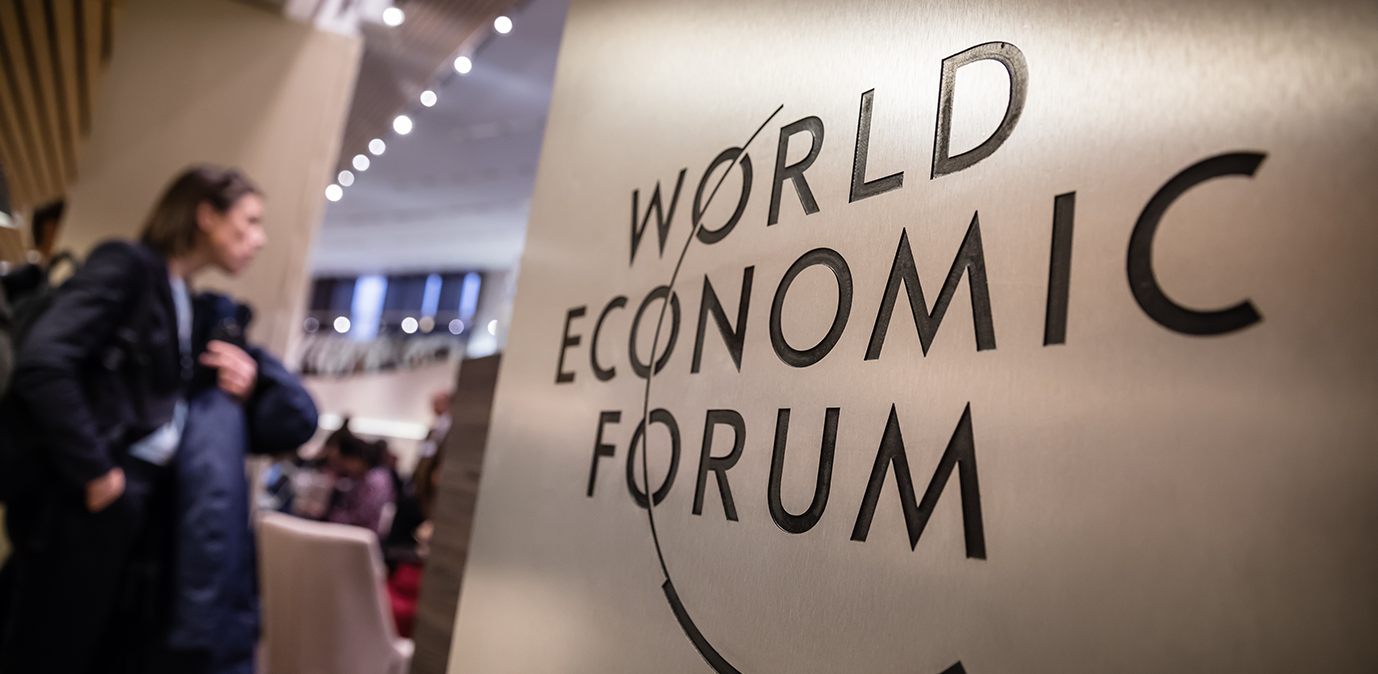Theresa May at Davos calls for international cooperation to regulate tech sector